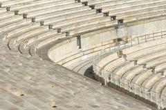 Escadas de mármore do estádio panathenaic Fotos de Stock