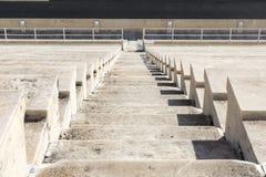 Escadas de mármore do estádio panathenaic Imagem de Stock
