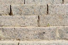 Escadas de mármore velhas Fotografia de Stock Royalty Free