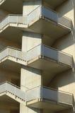 Escadas de pedra de uma construção Foto de Stock Royalty Free