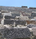 Escadas de Teotihuacan Imagem de Stock