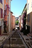 Escadas de Vallauris Imagem de Stock Royalty Free