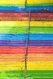 Escadas do arco-íris Fotografia de Stock Royalty Free