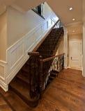 Escadas do carvalho Fotos de Stock Royalty Free