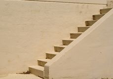 Escadas do cimento Imagens de Stock Royalty Free