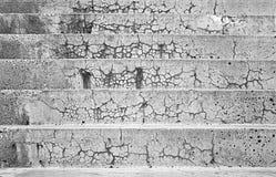 Escadas do cimento Fotografia de Stock Royalty Free