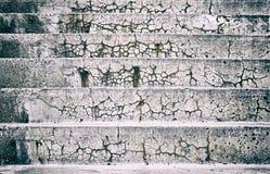 Escadas do cimento Fotos de Stock