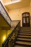 Escadas do edifício velho fotos de stock royalty free