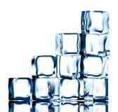 Escadas do gelo ilustração stock