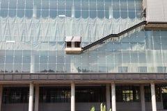 Escadas do isolado exteriores Fotografia de Stock