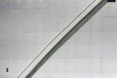 Escadas do metal Imagens de Stock