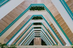 Escadas do recurso Fotos de Stock Royalty Free