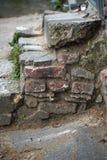 Escadas do tijolo Imagens de Stock Royalty Free