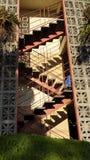 Escadas do ziguezague Fotos de Stock