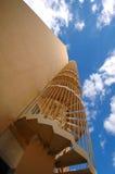 Escadas e céu Fotografia de Stock Royalty Free