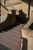 Escadas elegante curvadas Foto de Stock