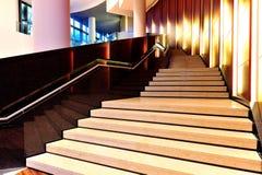 Escadas elegantes Foto de Stock Royalty Free