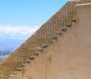 Escadas em Santra Barbara Castle Imagens de Stock Royalty Free