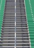 Escadas em um estádio imagens de stock
