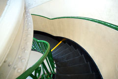 Escadas espirais Imagem de Stock Royalty Free