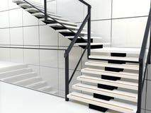 Escadas espirais ilustração stock