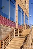 Escadas exteriores imagens de stock