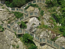 Escadas - Graz Foto de Stock