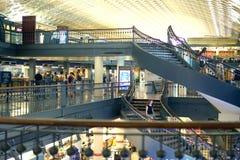 Escadas históricas da indústria siderúrgica da estação da união foto de stock royalty free