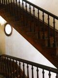 Escadas históricas da mansão na casa de Italianate foto de stock royalty free