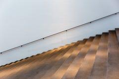 Escadas iluminadas Fotografia de Stock Royalty Free