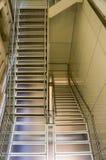Escadas interiores fotografia de stock