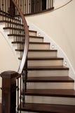 Escadas interiores foto de stock