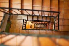 Escadas internas Imagem de Stock Royalty Free