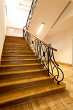 Escadas luxuosos fotografia de stock