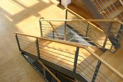 Escadas modernas Fotografia de Stock Royalty Free