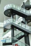 Escadas modernas Fotos de Stock Royalty Free
