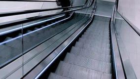 Escadas modernas da escada rolante filme