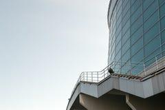 Escadas modernas do edifício Imagens de Stock Royalty Free