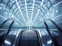 Escadas moventes Fotografia de Stock