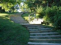 Escadas na natureza fotos de stock royalty free