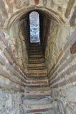 Escadas na torre de sino antiga Imagens de Stock