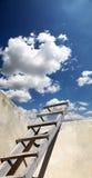 Escadas no céu imagens de stock