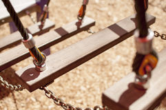 Escadas no campo de jogos Foto de Stock Royalty Free