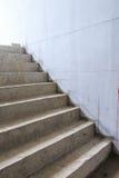 Escadas no canteiro de obras Imagens de Stock
