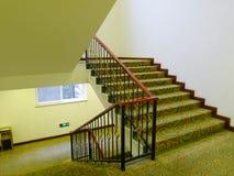 Escadas no hotel imagem de stock royalty free