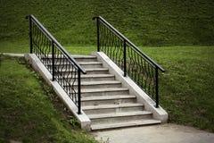 Escadas no parque Fotos de Stock