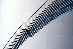Escadas no petroleiro de petróleo Foto de Stock Royalty Free