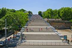 Escadas Odessa Ukraine de Potemkin Imagens de Stock Royalty Free