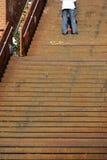 Escadas oxidadas Imagem de Stock