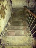 Escadas a pavimentar em seguida imagens de stock